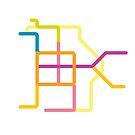 Mini Metros - Brussels, Belgium by transitoriented