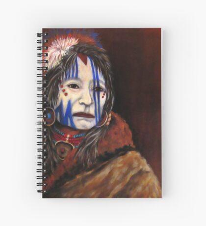 Mourning Mask #3 Spiral Notebook