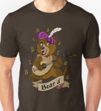 Bear Bard Unisex T-Shirt