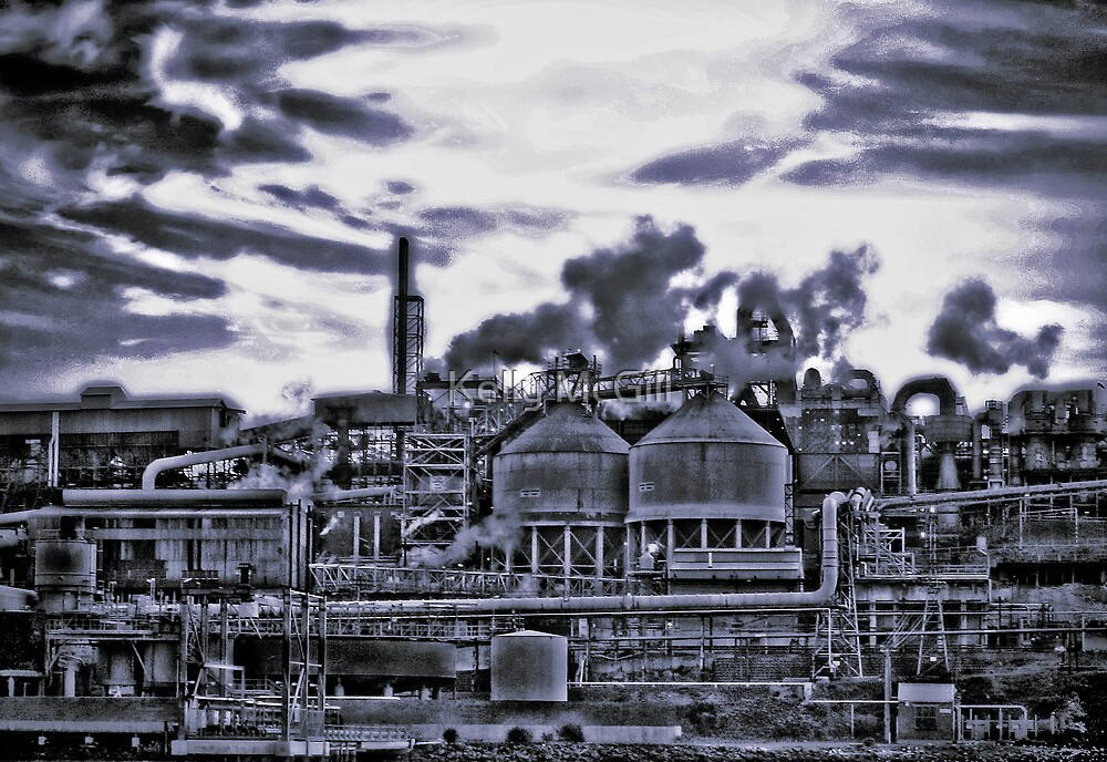 The Zinc Works by Kelly McGill