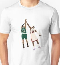 Paul Pierce Clutch Shot Over LeBron Unisex T-Shirt
