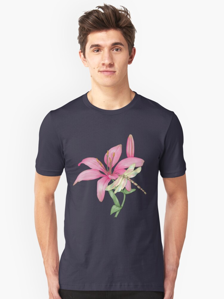 Lily Pink Unisex T-Shirt Front