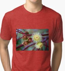 Red-budded Mallee - Eucalyptus Tri-blend T-Shirt