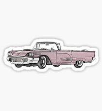 1958 Ford Thunderbird convertible Sticker