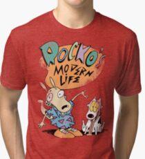 Rocko's Modern T-Shirt Tri-blend T-Shirt