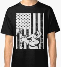 Welder American Flag Shirt  Classic T-Shirt