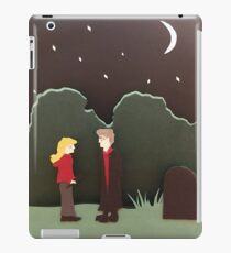 Buffy and Spike iPad Case/Skin