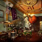 Steampunk - Hall of wonderment 1908 by Mike  Savad