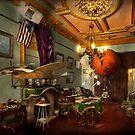 Steampunk - Hall of wonderment 1908 by Michael Savad