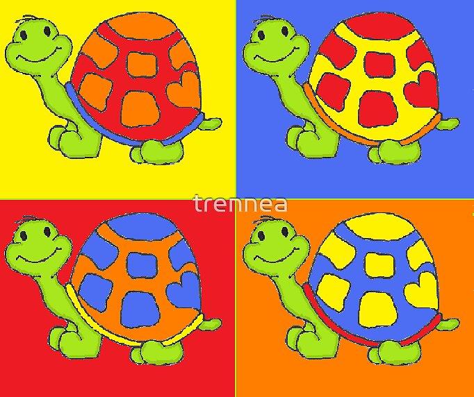 Pop Turtle-Pop Art by trennea