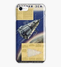 Soviet Space Infographic (1958) iPhone Case/Skin