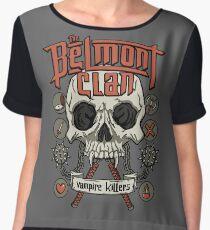 The Belmont Clan Chiffon Top