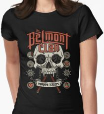 The Belmont Clan Womens Fitted T-Shirt