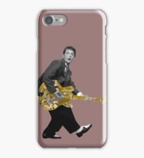 Marty Mc Fly plays Guitar | Cult Movies iPhone Case/Skin