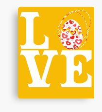 Love Easter Canvas Print