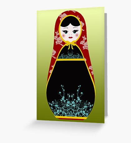 Matryoshka Greeting Greeting Card