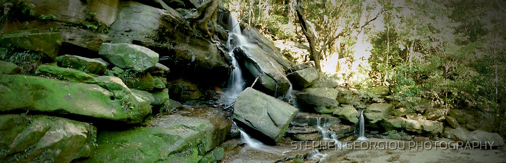 Somersby Falls (Water is the key to life treasure it!) by STEPHEN GEORGIOU PHOTOGRAPHY