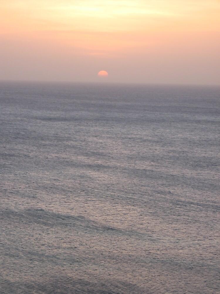Sunset in Aruba by Harriette Knight