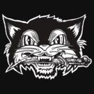 Knife Cat Halloween by ZugArt