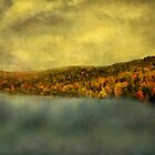 Goodnight in Blue and Gold by RC deWinter