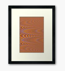 Spacial Terrain Framed Print