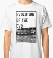 evolution of the EVO Classic T-Shirt