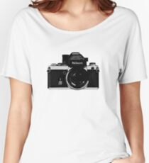 Nikon F2 Women's Relaxed Fit T-Shirt
