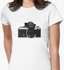 Nikon F2 Women's Fitted T-Shirt