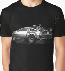 Back to the future Delorean | Cars | Cult Movies Graphic T-Shirt