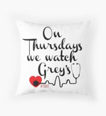 TGIT Throw Pillow