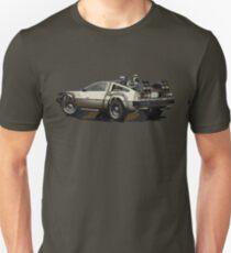 Back to the future Delorean Brown | Car | Cult Movie T-Shirt