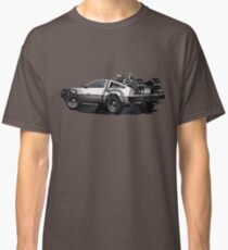 Back to the future Delorean | Cars | Cult Movies Classic T-Shirt