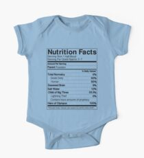Half-Blood Nutrition Guide (Percy) One Piece - Short Sleeve