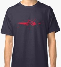 Back to the future Delorean   Car   Cult Movie Classic T-Shirt