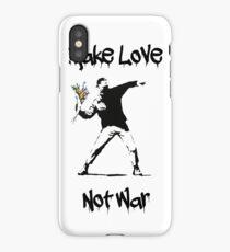 Make Love, Not War iPhone Case
