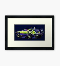 Back to the Future Delorean | Car | Cult Movie Framed Print