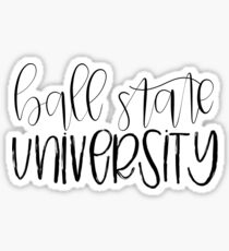 Ball State University Sticker