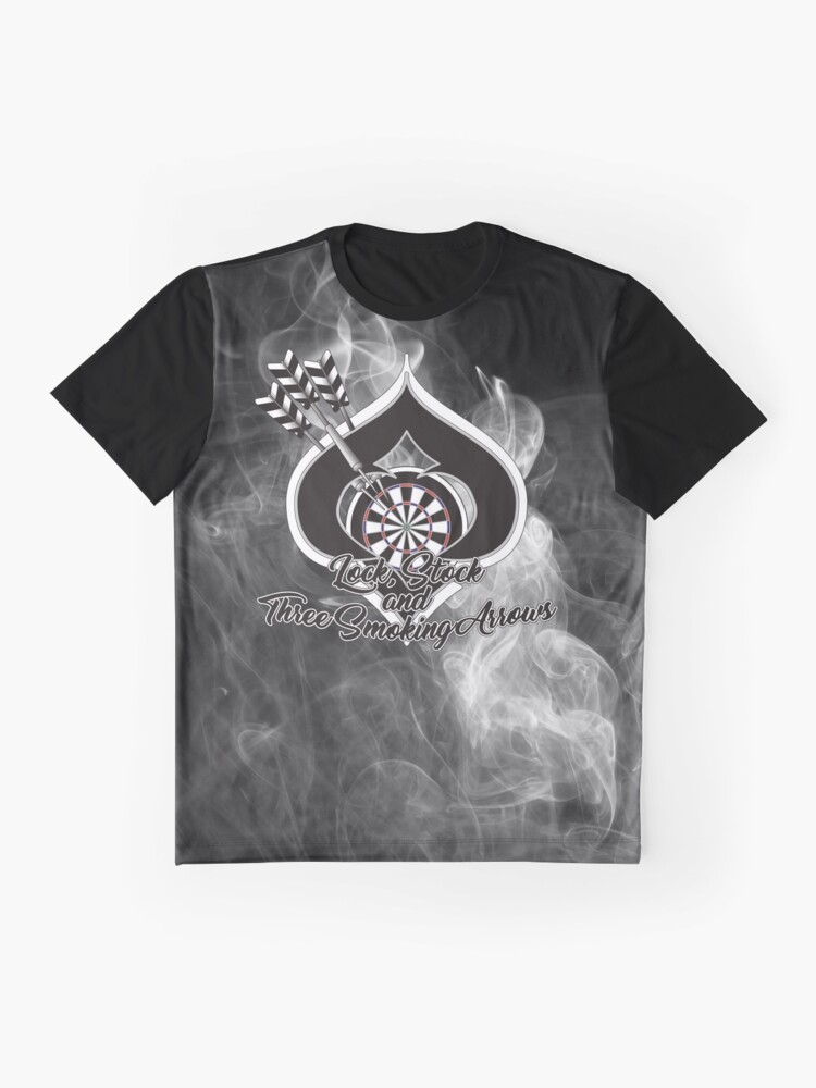Alternate view of Lock, Stock and Three Smoking Arrows Darts Shirt Graphic T-Shirt