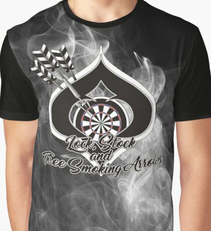 Lock, Stock and Three Smoking Arrows Darts Shirt Graphic T-Shirt