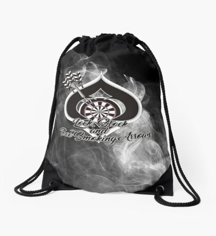 Lock, Stock and Three Smoking Arrows Darts Shirt Drawstring Bag