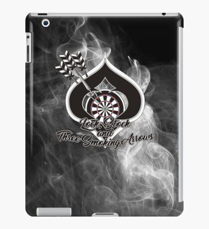 Lock, Stock and Three Smoking Arrows Darts Shirt iPad Case/Skin