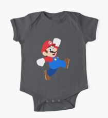 Simple Mario One Piece - Short Sleeve