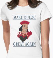 Make Duloc Great Again Women's Fitted T-Shirt