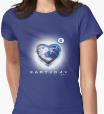 earthday 2017 Womens Fitted T-Shirt