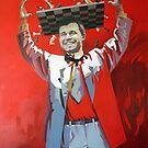 Magnus Carlsen by Valeriu Buev