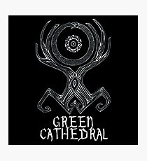 greem cathedral Photographic Print