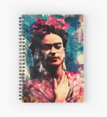 Frida Kahlo Spiral Notebook