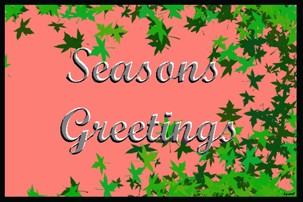 Seasons Greetings #1 by Daniel Rayfield