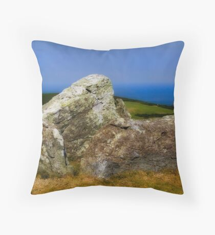 ancient stone Throw Pillow