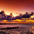 Sunset at Scarborough by Nicole Goggins